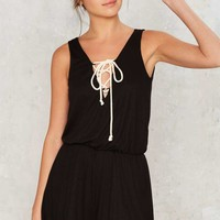 High Ropes Ribbed Romper
