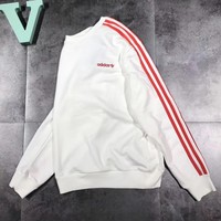 ADIDAS Fashion Sport Scoop Neck Top Sweater Pullover