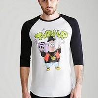 Patrick Star Graphic Baseball Tee
