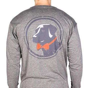 Long Sleeve Original Tee in Grey by Southern Proper