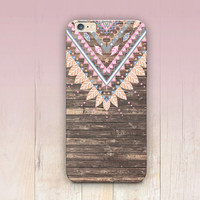 Tribal Wood Print Phone Case  - iPhone 6 Case - iPhone 5 Case - iPhone 4 Case - Samsung S4 Case - iPhone 5C - Tough Case - Matte Case