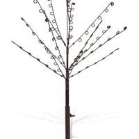 Meridian Point Bronjed Jewelry Tree Hold and Hangs Necklaces, Earrings and Jewelry, 84 Loops