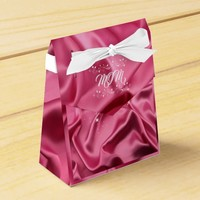 Valentine's Day, Pink Satin, Hearts and Sparkle, Favor Box