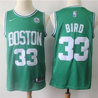 Men's Boston Celtics Larry Bird Green Swingman Jersey - Best Deal Online