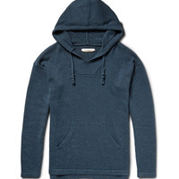 Outerknown - Atlantic Organic Cotton and Cashmere-Blend Hoodie   MR PORTER