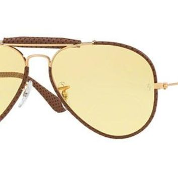 New Unisex Sunglasses Ray-Ban RB3422Q Craft Outdoorsman 90424A 58