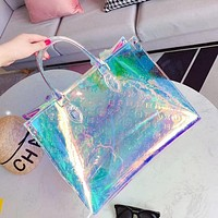 Louis Vuitton LV Fashion New Women Laser Tote Crossbody Satchel Laser Shoulder Bag Handbag