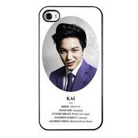 KPOP EXO MEMBER XOXO IPHONE4 CASE (KAI)