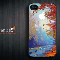 iphone 4 case, iphone 4s cases,iphone 4 protector,iphone 4 cover ,unique design oil style 91