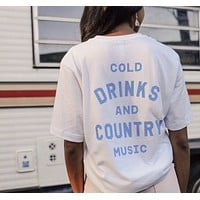Cold Drinks Tee