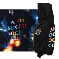 ASSC Hoodies Tops Alphabet Hats [11733400012]