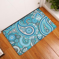 Autumn Fall welcome door mat doormat Bohemia Style Foot Mat For The Hallway Welcome Carpets On The Floor Washable Bedroom Carpets s Non-slip Bathroom Rugs AT_76_7
