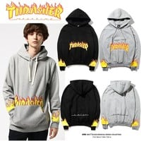Couple Alphabet Hoodies Jacket [17370775571]