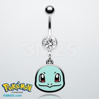 Squirtle Pokemon™ Belly Button Ring
