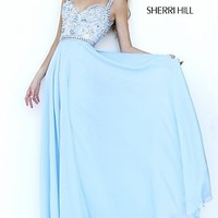 Sweetheart Long Beaded Prom Dress Sherri Hill 1933