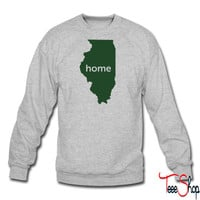 illinois home crewneck sweatshirt