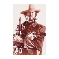 Clint Eastwood - Domestic Poster
