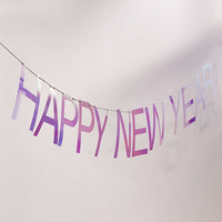 Happy New Year Party Banner | Urban Outfitters