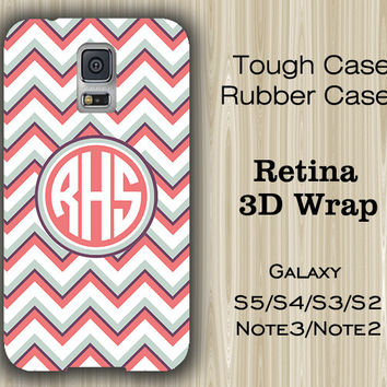 Fashion Chevron Monogram Samsung Galaxy S5/S4/S3/Note 3/Note 2 Case