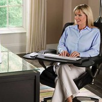 Chair Mount Ergo Keyboard and Mouse Tray System