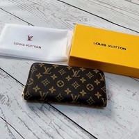 Louis Vuitton LV Monogram Zip Wallet
