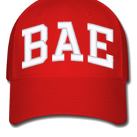 bae embroidery bucket hat - Flexfit Baseball Cap