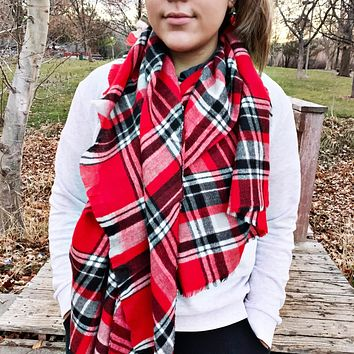 READY TO SHIP * Large Acrylic Blanket Scarves