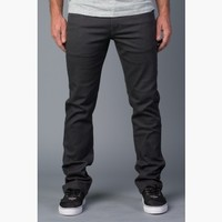 {True Grit} Relaxed Slim Jeans in Charcoal