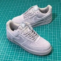 Nike Air Force 1 07 Lv8 Suede Grey Sport Shoes - Best Online Sale