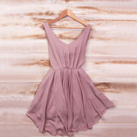 Smart Mauve Dress - pre-order