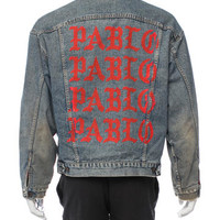 Yeezy Life Of Pablo Denim Jacket