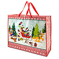 Mickey Mouse and Friends Reusable Holiday Tote - Extra Large