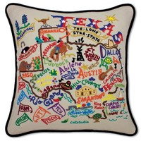 TEXAS XL PILLOW - XL hand-embroidered - pillows - shop