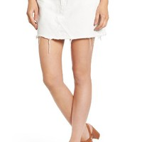 Topshop Cutoff Denim Skirt | Nordstrom