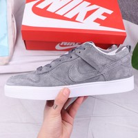 NIKE Fashion High Quality New Sports Leisure Men Running Shoes Gray