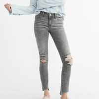 Womens Low-Rise Super Skinny Jeans | Womens Bottoms | Abercrombie.com