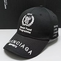 Perfect Balenciaga Unisex Fashion Casual Cap