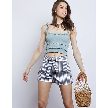 Chloe Paper Bag Shorts