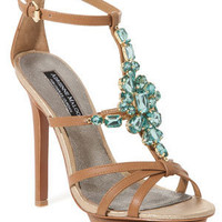 "Adrienne Maloof by CJ ""Venus"" Leather Sandal"