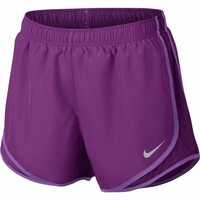 Nike Women's Dry Tempo Running Shorts 831558 Black Large