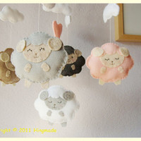 Baby Nursery Mobile Baby Crib Mobile Baby Classic by hingmade