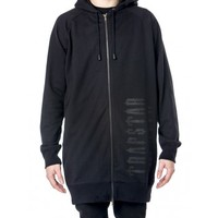 Decoded Heavy Weight Elongated Zip Hoodie (Black) - View All   Trapstar