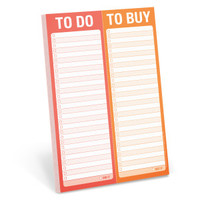 To Do / To Buy Perforated Pad by Knock Knock - knockknockstuff.com
