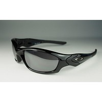 NEW Oakley - Straight Jacket 2.0 (AF) - Polished Black / Black Iridium, 04-325J