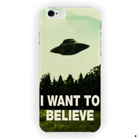 I Want To Believe The X Files Movie For iPhone 6 / 6 Plus Case