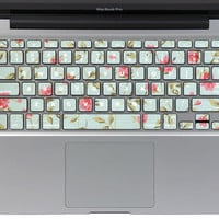 Macbook Keyboard Decal -- Macbook Cover Keyboard Macbook Pro Decals Macbook Air Stickers Vinyl Skin for Apple Laptop