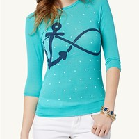 Anchor Infinity Pullover