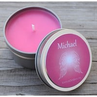 Archangel Michael Candle - Call Upon Guardian Angel Michael for Protection & Guidance