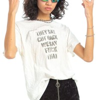 Vintage Y2K The Most Tee - One Size Fits Many