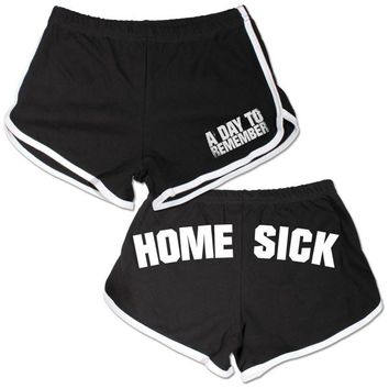 A Day To Remember: Homesick Booty Shorts (Black)